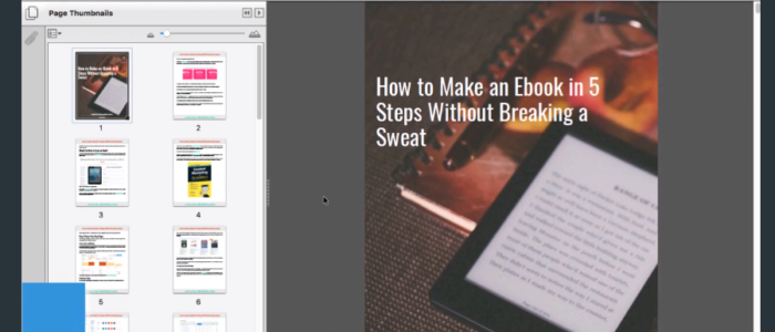 Is there a better way to create ebooks online?